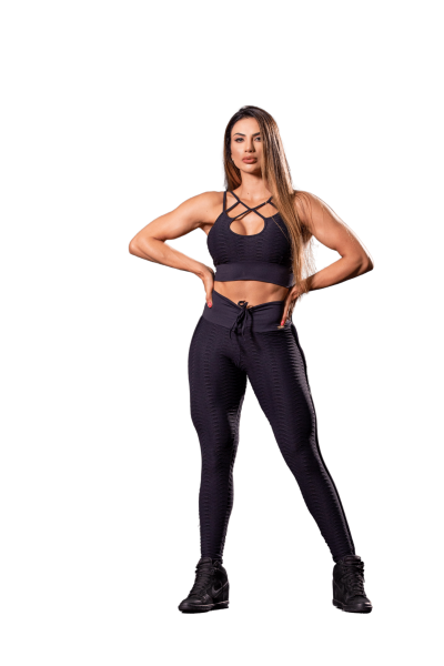 Oxyfit Leggings Track Black