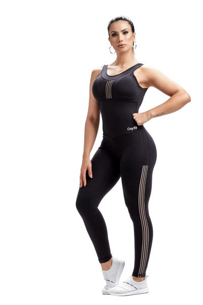 Oxyfit Jumpsuit Striped