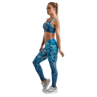 Labellamafia Leggings Fitness Feminino Over Print Blue