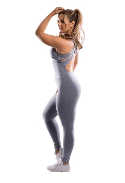 Oxyfit Jumpsuit Overall Basic Gray
