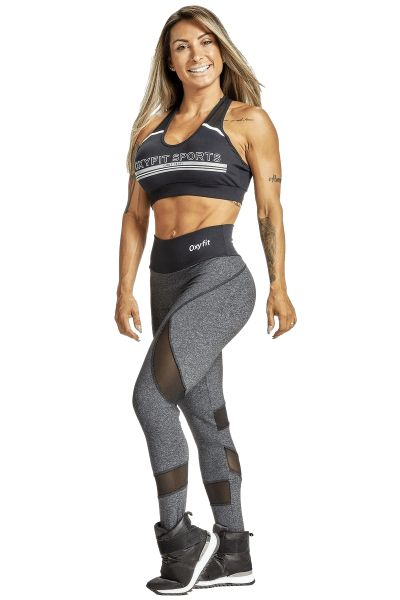 Oxyfit Leggings Lucidity Dark Gray