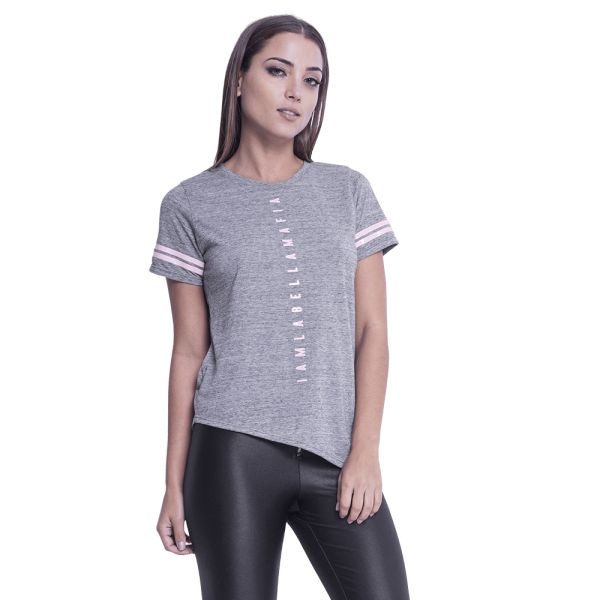 Labellamafia Shirt Gray Baby